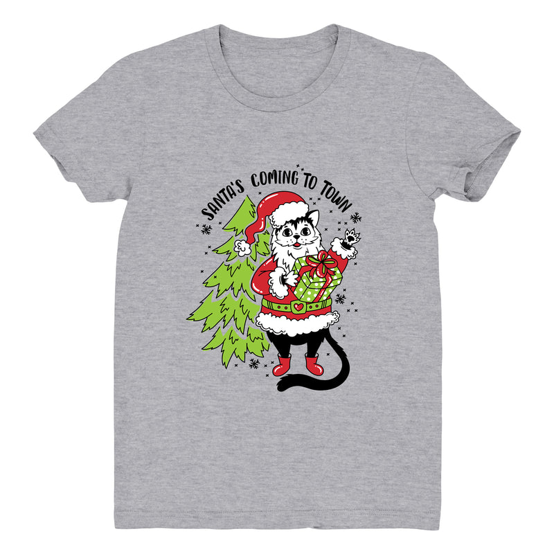 Santa's Coming to Town (Tree) - Women's Tee