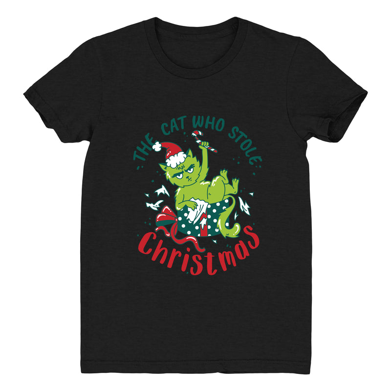 The Cat Who Stole Christmas (Present) - Women's Tee