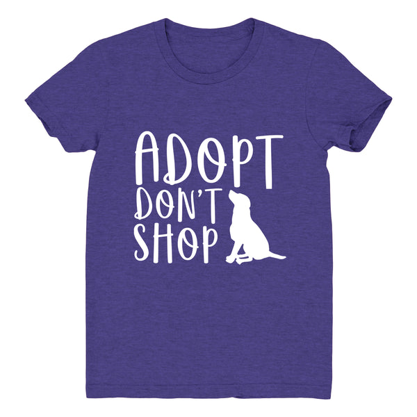 Adopt Don't Shop Dog - Women's Tee