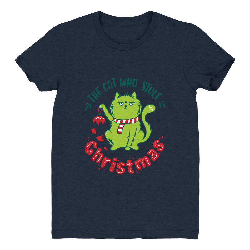 The Cat Who Stole Christmas (Ornament) - Women's Tee