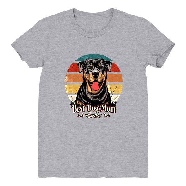Best Dog Mom Ever Rottweiler - Women's Tee