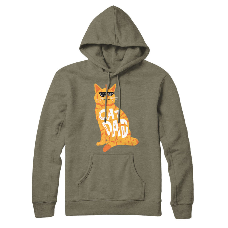 Cat Dad Pumpkin Edition - Hoodie