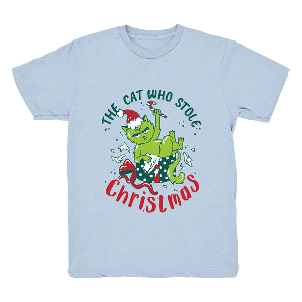 The Cat Who Stole Christmas (Present) - Tee