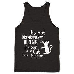 Drinking Wine With My Cat - Tank