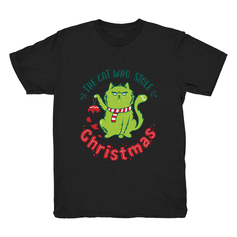 The Cat Who Stole Christmas (Ornament) - Tee