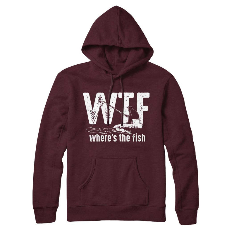 Where's The Fish - Hoodie