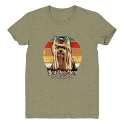 Best Dog Mom Ever Yorkie - Women's Tee