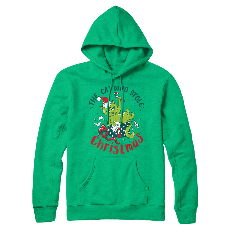 The Cat Who Stole Christmas (Present) - Hoodie