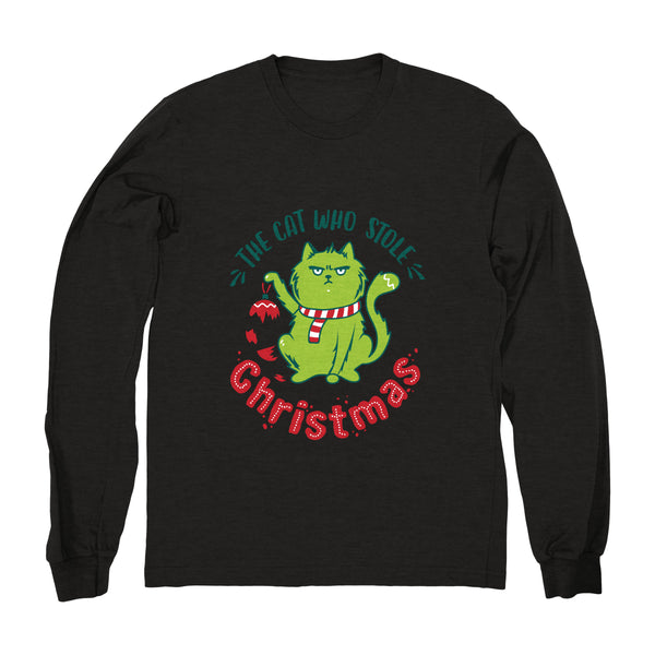 The Cat Who Stole Christmas (Ornament) - Long Sleeve