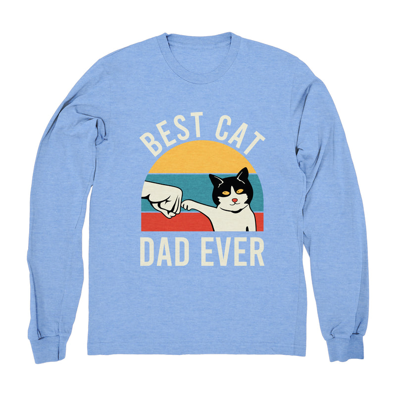 Best Cat Dad Ever (Fist Bump) - Long Sleeve