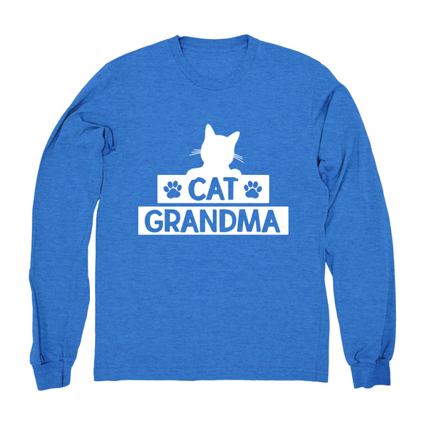 Cat Grandma - Long Sleeve