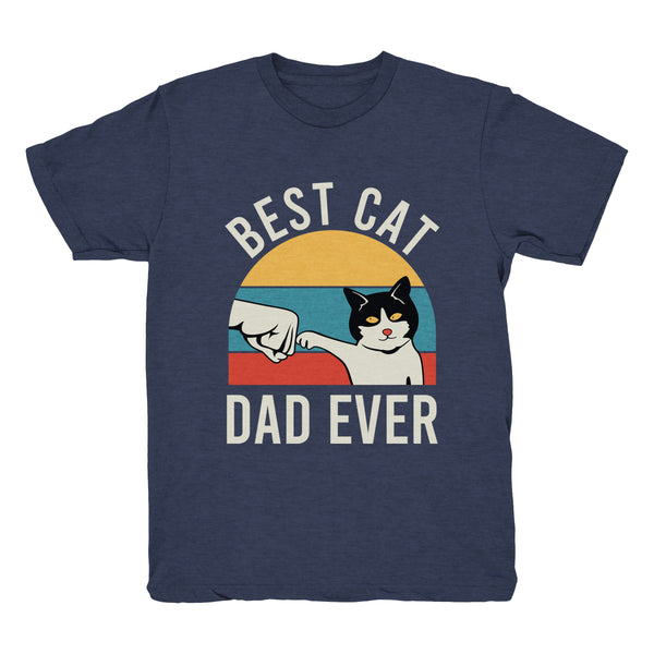 Best Cat Dad Ever (Fist Bump) - Tee