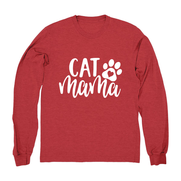 Cat Mama - Long Sleeve