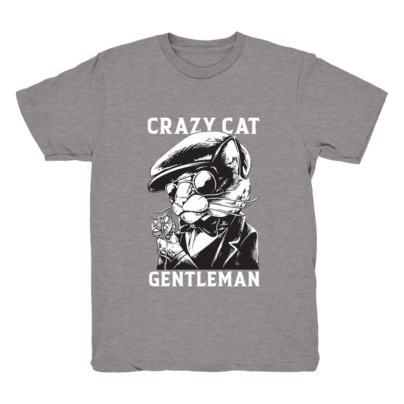 Crazy Cat Gentleman - Tee