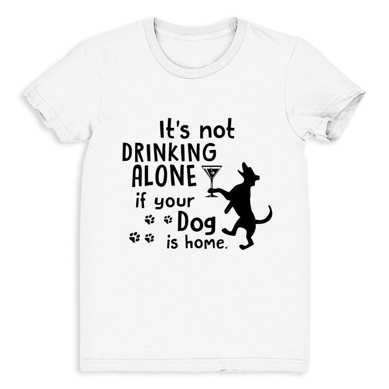 Drinking Wine With My Dog - Women's Tee