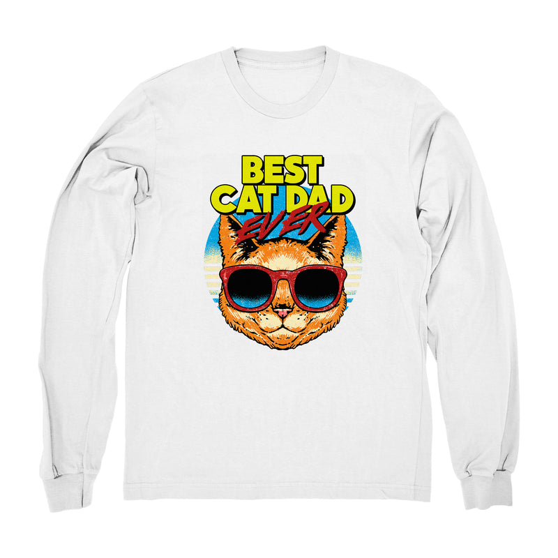 Best Cat Dad Ever - Long Sleeve