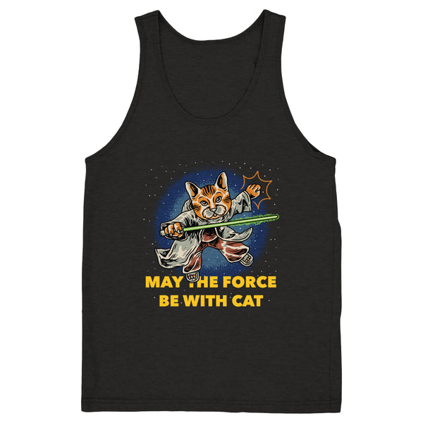 May The Force Be With Cat - Tank