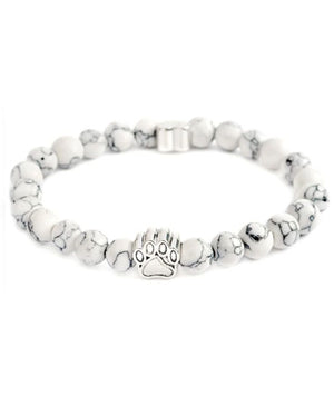 Pet Adoption Awareness Bracelet (Crystal White)
