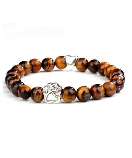 Pet Adoption Awareness Bracelet (Caramel Brown)