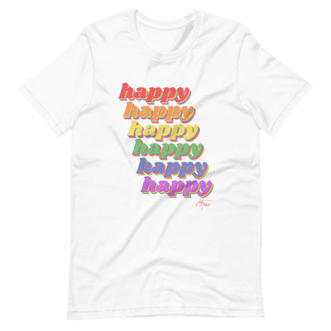 Happy Trails - Short-Sleeve Unisex T-Shirt