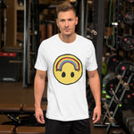 Happy Little Rainbow - Short-Sleeve Unisex T-Shirt