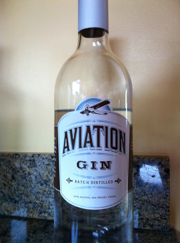 Original Aviation Gin Bottle Source:  https://boozeguru.blog/2013/05/14/aviation-gin/