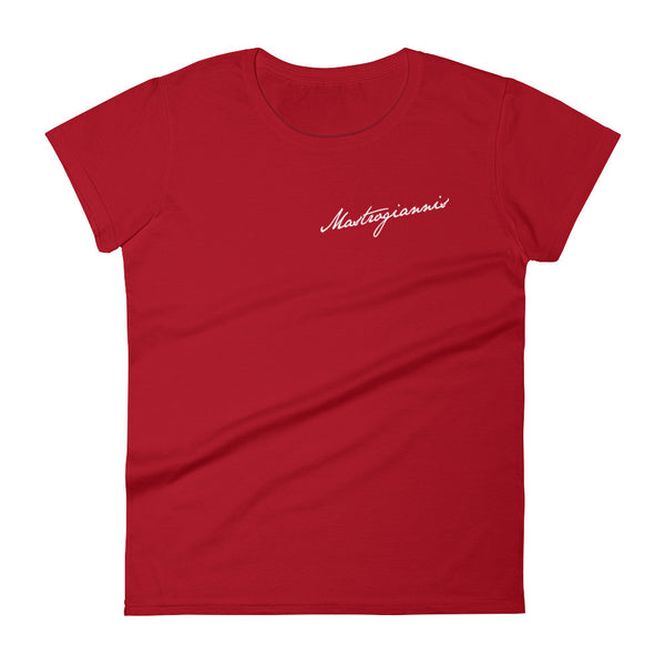 Mastrogiannis Signature - Women's short sleeve t-shirt