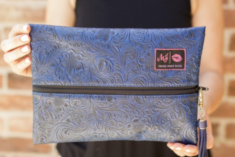 Makeup Junkie Bag - Indigo Night