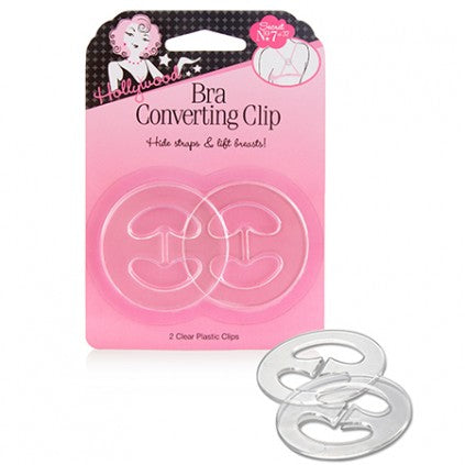 Bra Converting Clips Set of 2(Clear)