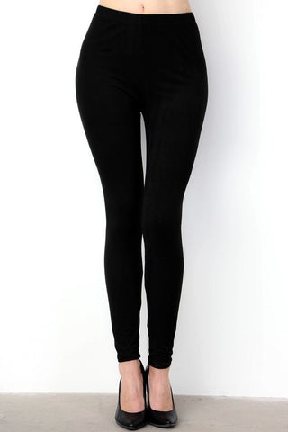 Leggings (Plus Sizes) (Solid)