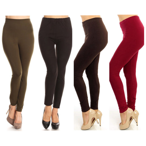 Leggings - Brushed Soft (Solid Colors)