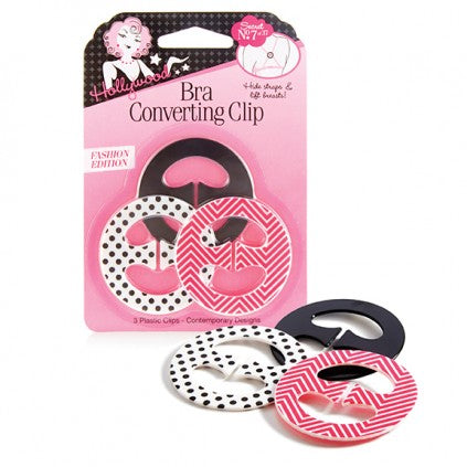 Bra Converting Clips Set of 3 (Contemporary Designs)