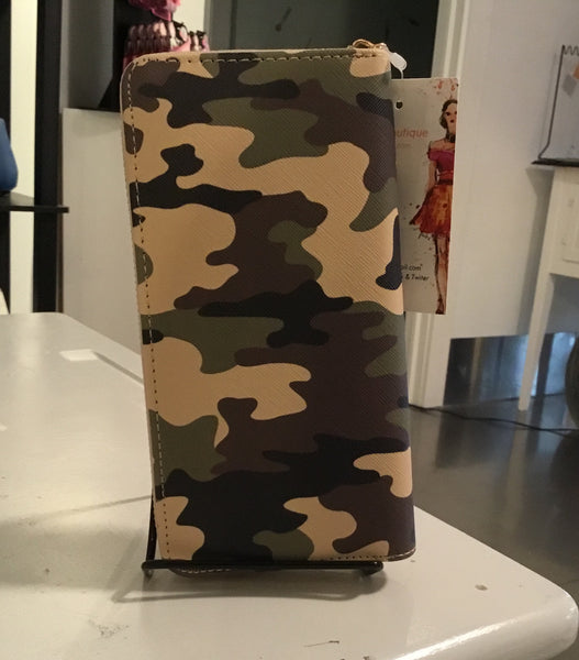 Wallet - Camo Style