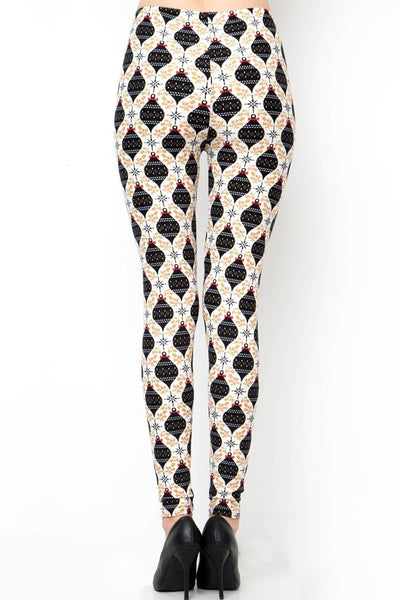 Leggings Holiday Print