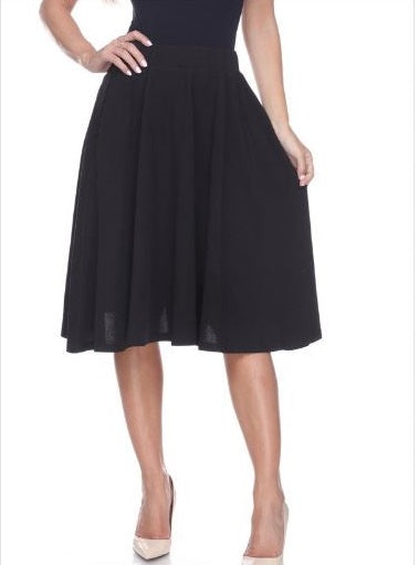Saya Fare Skirt (Black)