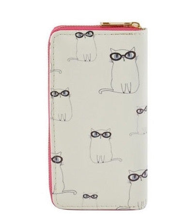 Kitty in Glasses Wallet