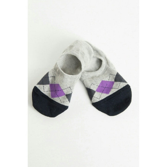 Socks - Argyle Pattern