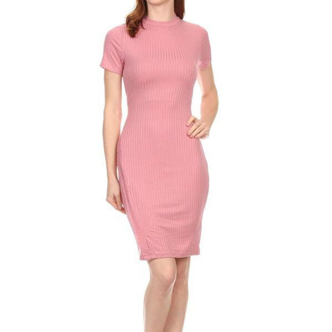 Knit Body Con Dress
