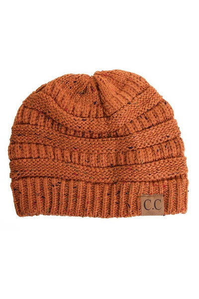 C.C. Cable Knit Beanie