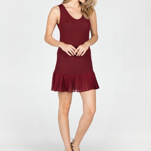 Dress - Sleeveless Knit
