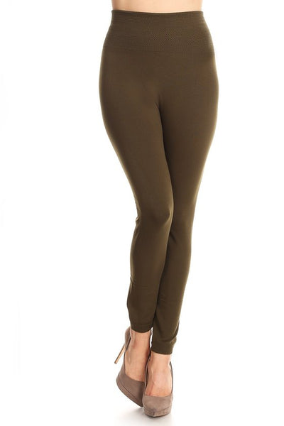 "Fleece Lined Leggings - 27"" Inseam"