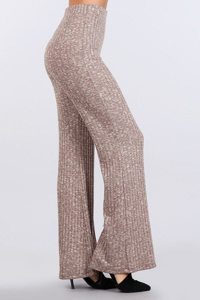 Pants - Flared Leg Knit Pants