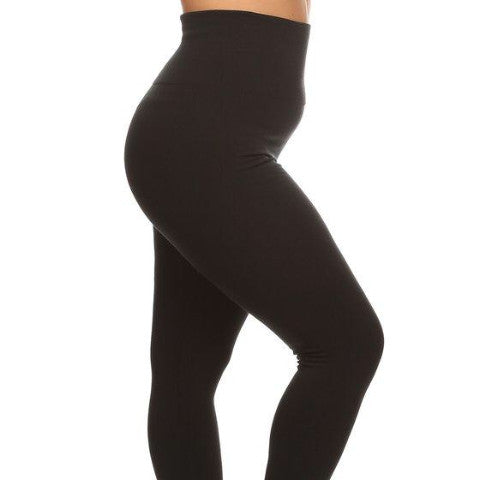 Fleece Leggings - Plus Size