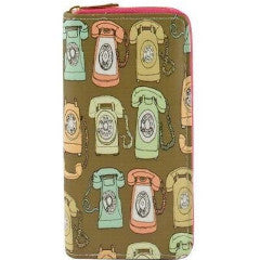 Telephone Pattern Wallet