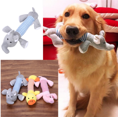 Puppy Squeaker Chew Toy Free + Shipping
