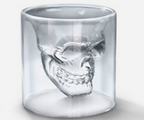 Cool Inverted Skull Head Shot Glass