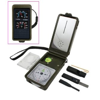 Multifunction 10 in 1 Survival Compass