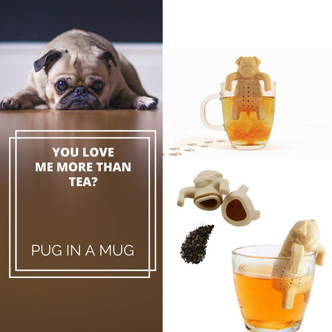 Best Seller! Pug In a Mug Tea Infuser