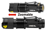Water Proof Mini Tactical Flashlight