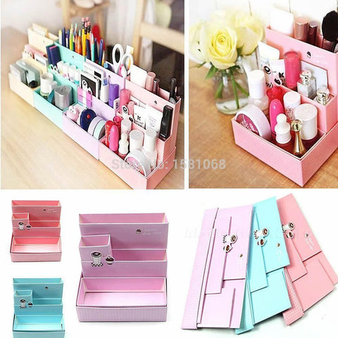 Pop-Up | Sweet Cupcake | Sturdy Paper Board Desk Organizer